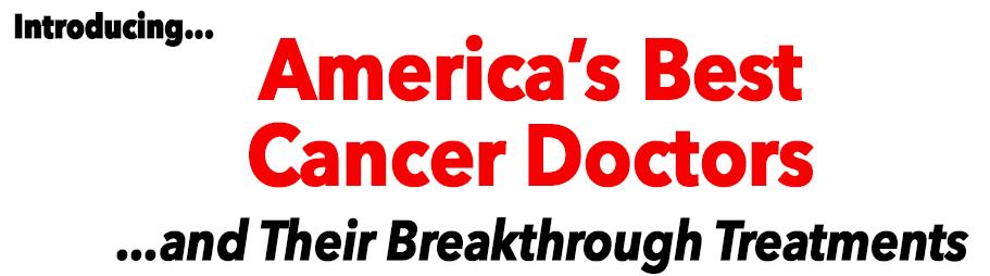 Americas Best Cancer Doctors