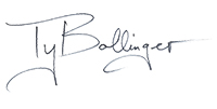 ty bollinger signature